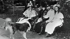 Николай II Александра Федоровна и Ольга Александровна