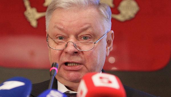 Руководитель Федеральной миграционной службы (ФМС) РФ Константин Ромодановский. Архивное фото