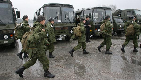 В России завершается очередная призывная кампания: за осень 2010 года «под ружье» встали почти 280 тысяч человек