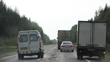 Автомобильная дорога в Костроме