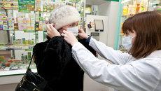 Продажа медицинских масок и лекарств в аптеках Томска