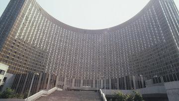 Гостиница Космос в Москве. Архивное фото