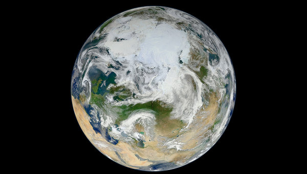 Планета Земля/ Вид из космоса