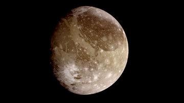 Спутник Юпитера Ганимед. Архив