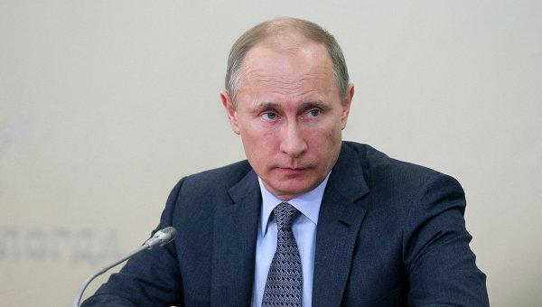Рабочая поездка В.Путина в Северо-Западный федеральный округ
