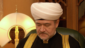 Муфтий шейх Равиль Гайнутдин, глава Совета муфтиев России, архивное фото