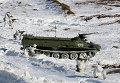Учения морпехов Северного флота под Мурманском