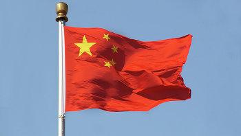 Флаг Китайской Народной Республики. Архивное фото