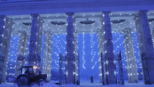 Центральный парк культуры и отдыха имени Горького. Архивное фото