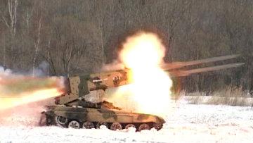 Военные уничтожили противника, впервые применив Буратино во время боя