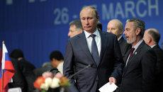 В.Путин принимает участие в саммите БРИКС