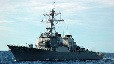Эсминец ВМС США Фицжеральд. Архивное фото