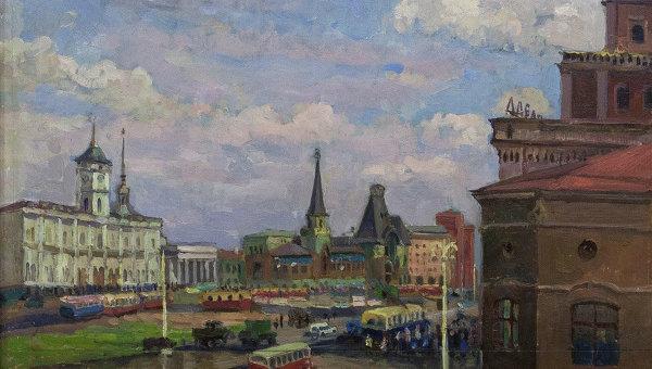 Леонтий Мазанов Площадь трех вокзалов