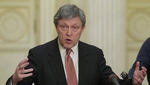 Депутат партии Яблоко - Григорий Явлинский. Архивное фото