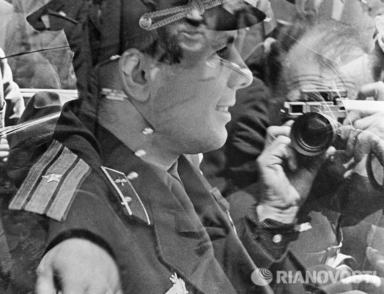 «Я снимаю Юрия Гагарина»