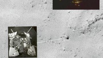 Советский посадочный зонд Марс-3 на снимках орбитального зонда MRO