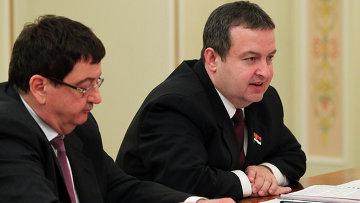 Глава сербского МИД Ивица Дачич. Архивное фото