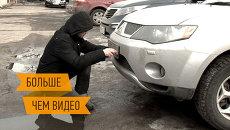 Как уберечься от кражи автомобильных номеров. Интерактивный репортаж