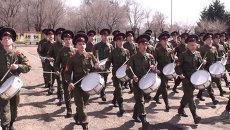 Суворовцы готовятся к параду Победы