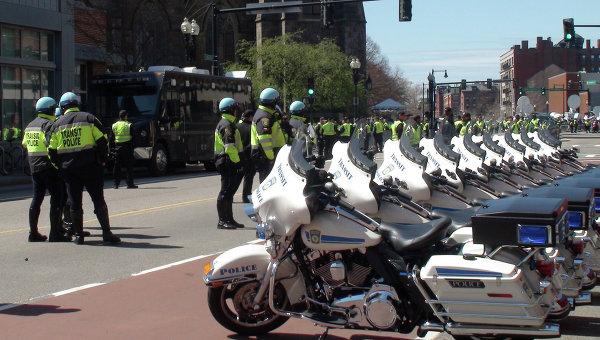Полиция. Бостона. Архивное фото