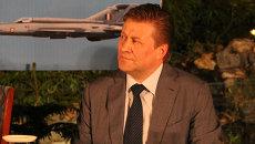 Генеральный директор ОАО Российская самолетостроительная корпорация МиГ Сергей Коротков в Индии