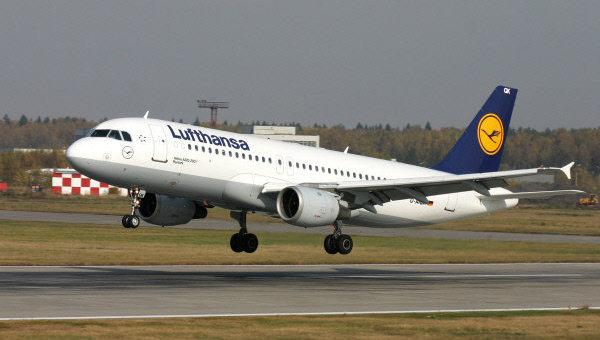 Авиакомпания Lufthansa. Архивное фото