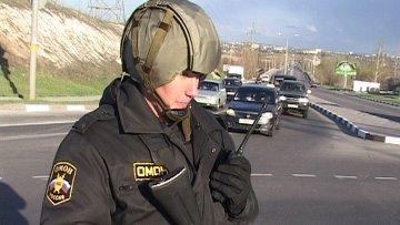 Полицейские патрулируют улицы в Белгороде