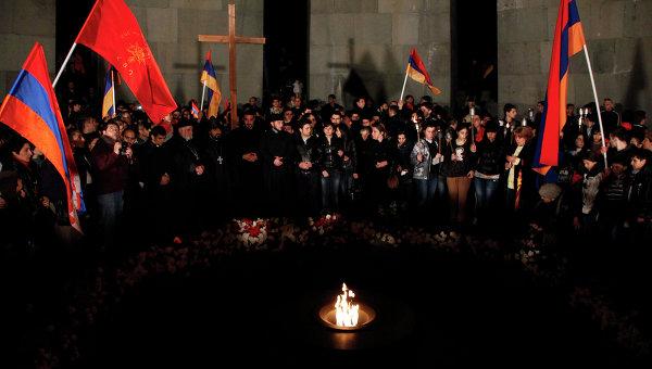 В Ереване пройдет традиционное факельное шествие памяти жертв Геноцида армян