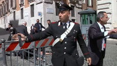 Стрельба в центре Рима. Кадры с площади перед правительственным дворцом