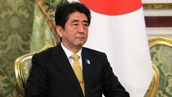Премьер-министр Японии Синдзо Абэ, архивное фото