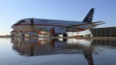 Разбившийся в Индонезии самолёт SSJ-100 перед вылетом в демонстрационный полёт по шести странам Азии (Жуковский, Московская область)