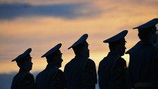 Репетиция военного парада в Новосибирске