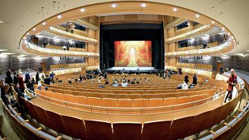 Зал Второй сцены Государственного академического Мариинского театра в Санкт-Петербурге.