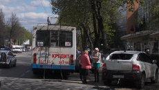 ДТП с троллейбусом. Архивное фото