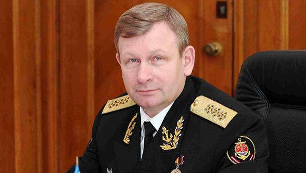 Главнокомандующий Военно-Морским Флотом России адмирал Виктор Чирков
