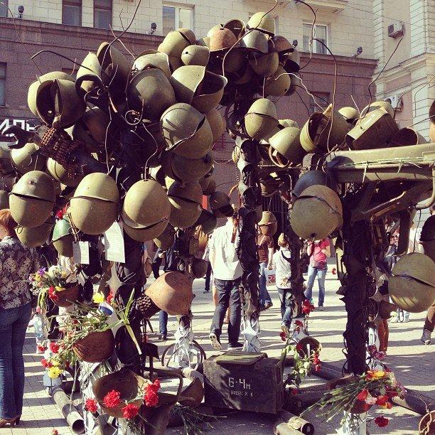 На праздновании Дня Победы в Москве