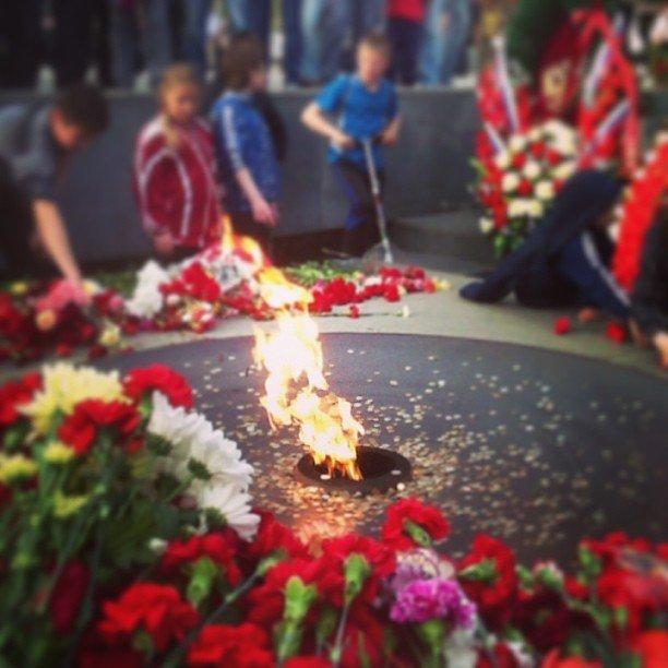 Вечный огонь в Новосибирске