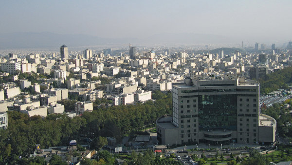 Тегеран столица Ирана. Архив