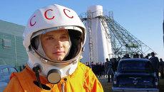 Кадр из фильма Гагарин. Первый в космосе