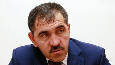 Глава Республики Ингушетия Юнус-Бек Евкуров. Архив