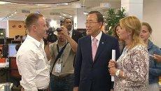 Пан Ги Мун о снижении напряженности и  активизации диалога с КНДР
