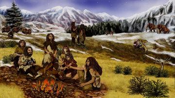 Неандертальцы. Архив