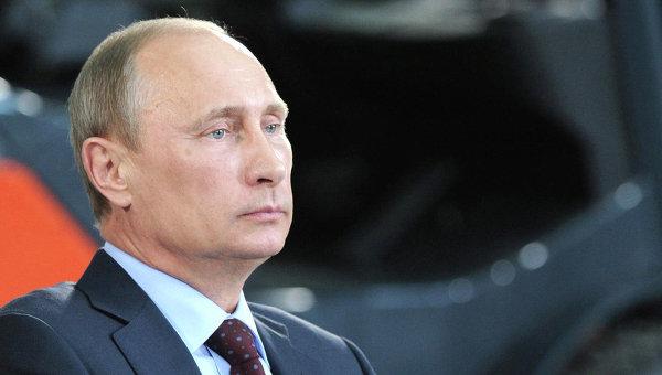 Рабочая поездка В. Путина в Воронеж