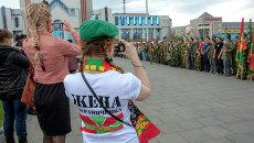 Боевой расчет новосибирских ветеранов-пограничников