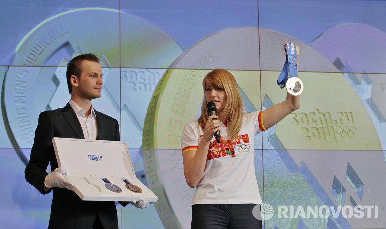 П�езен�а�ия медалей Зимней Олимпиад�2014 РИА Ново��и