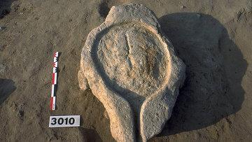 Этрусская давильня, обнаруженная археологами в фундаменте древнего дома на юге Франции