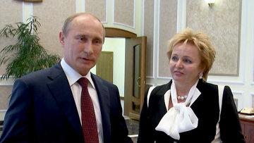 Это общее решение – Владимир и Людмила Путины объявили о разводе