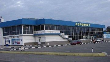 Международный аэропорт Симферополя. Архивное фото