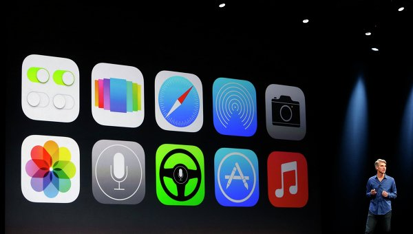 Apple анонсировала мобильную платформу iOS 7