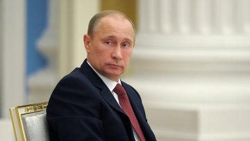 Президент РФ Владимир Пути